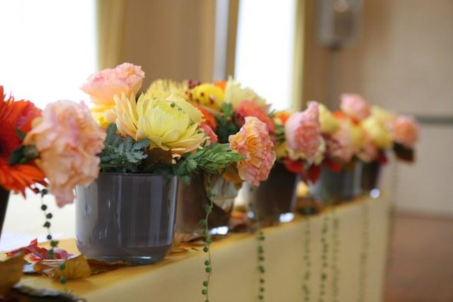 高砂席のお花