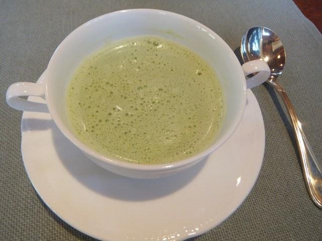 とても美味しいスープ