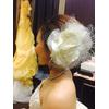 ウェディングドレス ヘッドドレス お花
