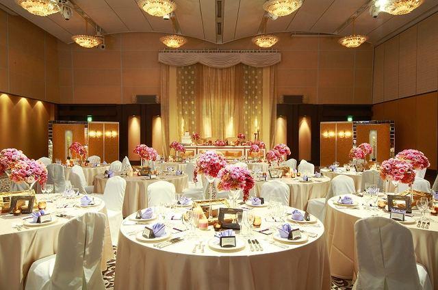 KKRホテル博多の披露宴会場