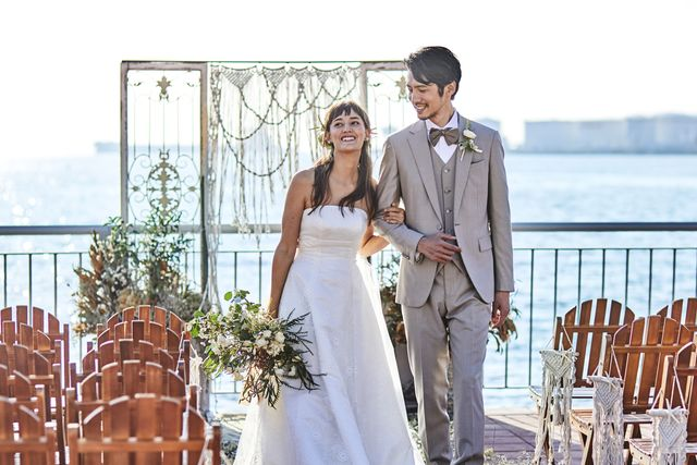 535ef639d6e61 写真:AMANDAN SAIL(アマンダンセイル)で結婚式 みんなのウェディング