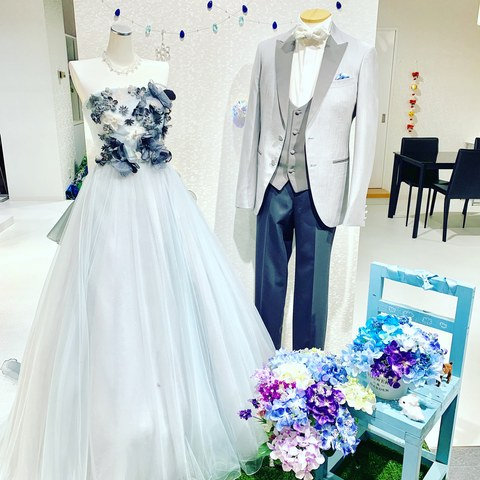 ウェディングドレス・和装(式場公式写真):九十九島ベイサイド