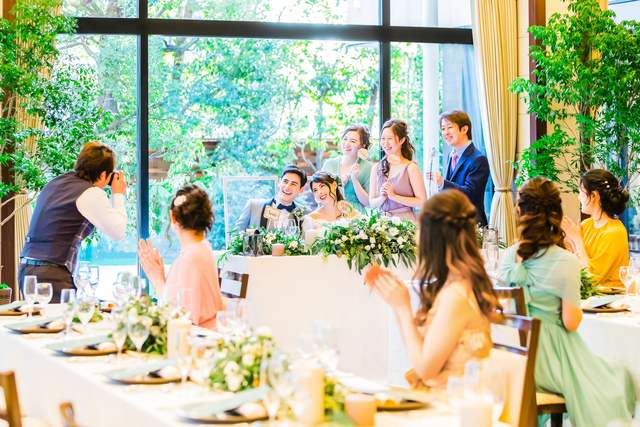 17298d9390148 人物・演出(式場公式写真):ウエディングレストラン ジュレで結婚式 ...