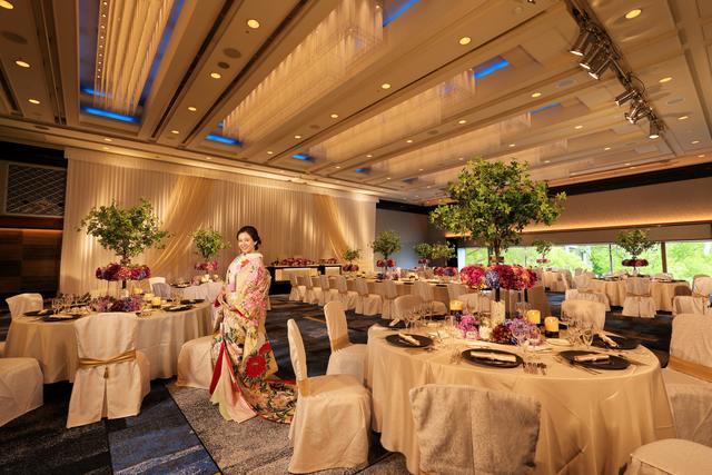 a7291c8a2a575 ホテルニューオータニ佐賀の披露宴会場|みんなのウェデイング