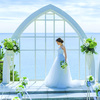 【平日人気☆No.1】贅沢黒毛牛×海の教会×別荘見学ツアー♪